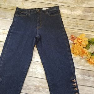NYDJ Not Your Daughter's Jeans Dark Cropped Sz 12